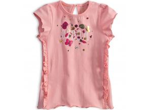 Dívčí tričko KNOT SO BAD BLOOM růžové