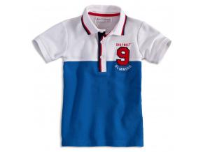 Chlapecké polo tričko  MINOTI ELM modré