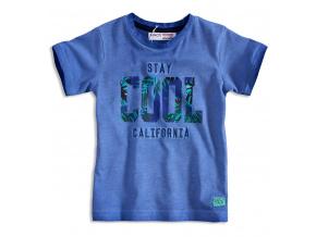 Dětské tričko krátký rukáv MINOTI STAY COOL modré
