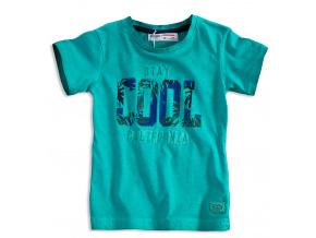 Dětské tričko krátký rukáv MINOTI STAY COOL zelené
