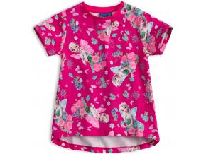 Dívčí tričko DISNEY FROZEN ELSA růžové