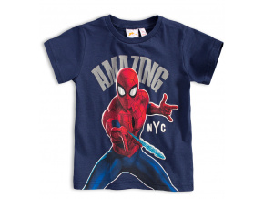 Chlapecké tričko MARVEL SPIDER MAN AMAZING modré