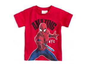 Chlapecké tričko MARVEL SPIDER MAN červené