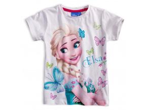 Dívčí tričko DISNEY FROZEN ELSA bílé