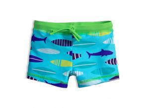 Chlapecké plavky ŽRALOCI světle modré