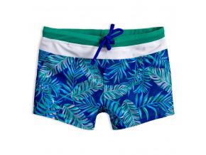 Chlapecké plavky KNOT SO BAD PALMS modré