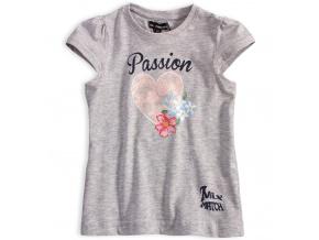 Dívčí tričko Mix´nMATCH PASSION šedé