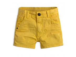 Chlapecké šortky KNOT SO BAD TANGERINE žluté