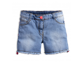 Dívčí džínové šortky KNOT SO BAD GIRLS modré