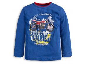 Chlapecké tričko Knot So Bad MOTORKA modré