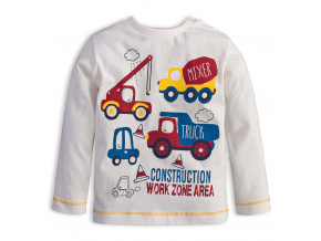 Chlapecké tričko Knot So Bad WORK bílé