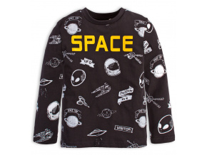 Chlapecké tričko Knot So Bad SPACE černé