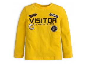 Chlapecké tričko Knot So Bad VISITOR žluté