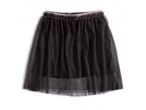 Dívčí tylová sukně Knot So Bad BLACK STAR černá