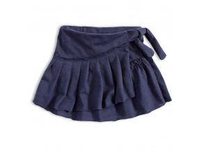 Dívčí sukně Knot So Bad HAPPY TIME modrá