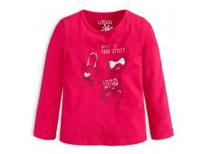 Dívčí tričko Losan YOUR STYLE růžové