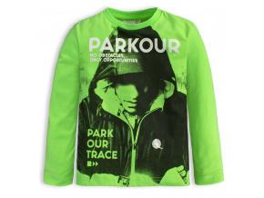 Chlapecké tričko Canguro PARKOUR TRACE zelené