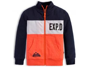 Chlapecká mikina Mix n Match EXP oranžová
