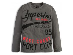 Chlapecké triko Losan SUPERIOR šedé