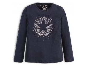 Dívčí tričko Losan SILVER STAR modré