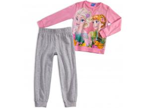 Dívčí pyžamo ANNA a ELSA růžové quarzo