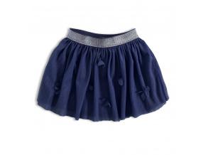 Dívčí tutu sukně Knot So Bad MOTÝLI modrá