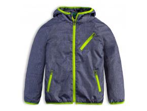 Chlapecká šusťáková bunda Knot So Bad META GREEN modrá