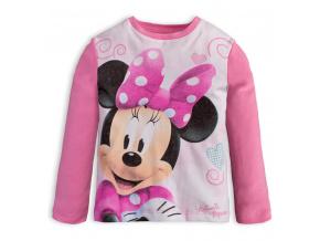 Dívčí tričko DISNEY MINNIE MOUSE světle růžové