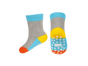 eng pl SOXO terry socks with colorful sole ABS 18926 3