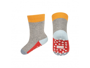 eng pl SOXO terry socks with colorful sole ABS 18926 6