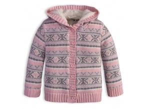 Dívčí termo svetr DIRKJE SNOW růžový