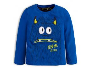 Chlapecké tričko LEMON BERET FEED ME modré