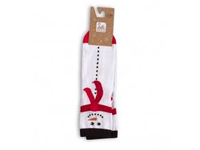 Dámské ponožky se zimním motivem WOLA SHĚHULÁK bílé