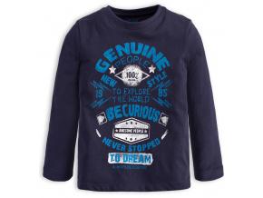 Chlapecké tričko s nápisem LOSAN EXPLORE modré