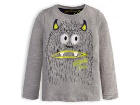 Chlapecké tričko LEMON BERET FEED ME šedé