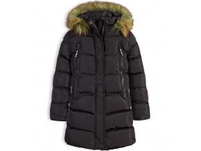 Dívčí zimní kabát LEMON BERET LMN černý