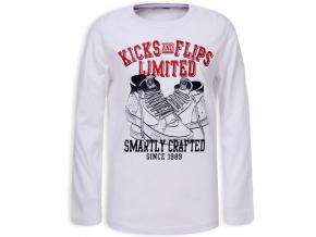 Chlapecké tričko GLO STORY KICK bílé