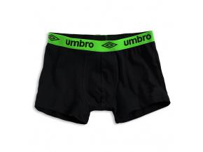 Pánské boxerky UMBRO zelený pas