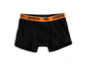 Pánské boxerky UMBRO oranžový pas