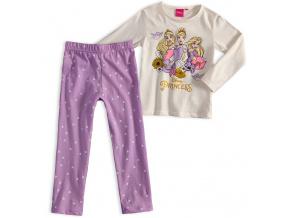 Dívčí pyžamo DISNEY PRINCESS krémové