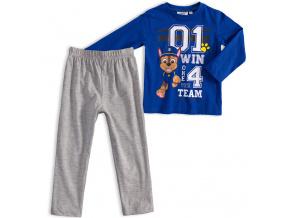 Chlapecké pyžamo PAW PATROL WIN TEAM modré