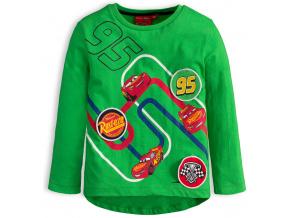 Chlapecké tričko DISNEY CARS AUTA zelené