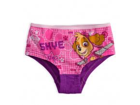 Dívčí kalhotky PAW PATROL SKYE fialové