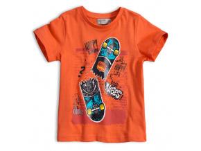 Chlapecké tričko GLO STORY HAPPY BOARDS oranžové