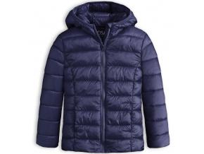 Dívčí prošívaná bunda LOSAN SCHOOL modrá