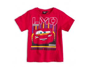 Dětské tričko DISNEY CARS McQUEEN červené