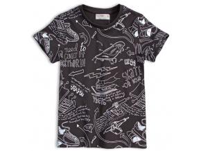 Chlapecké tričko GLO STORY SKATE černé