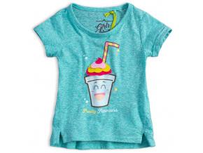 Dívčí tričko LEMON BERET FRUITY zelené