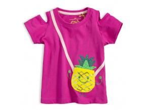 Dívčí tričko LEMON BERET ANANAS fialové