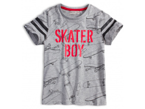 Chlapecké tričko GLO STORY SKATER BOY šedé